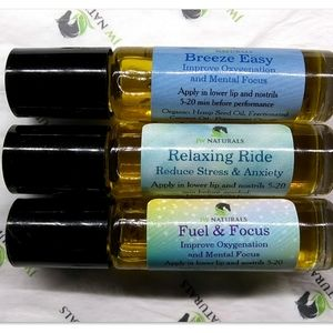 Three Pack Relaxing Ride Fuel & Focus Breeze Easy